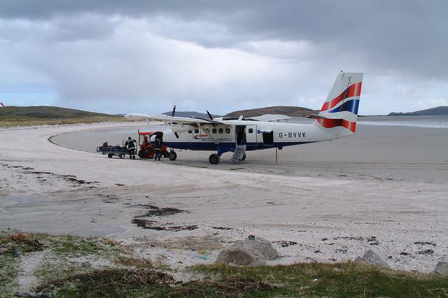 Barra Airport, Scotland