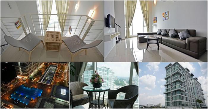 【S Suites @ Scott Garden】吃、喝、玩、乐都方便的Duplex民宿